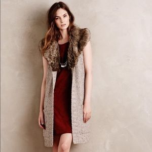 Anthropologie Angel of the North sweater vest